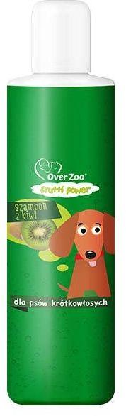 OVER ZOO - Szampon kiwi dla psów krótkowłosych 200ml