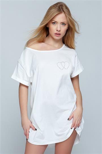 Koszula Heart Ecru