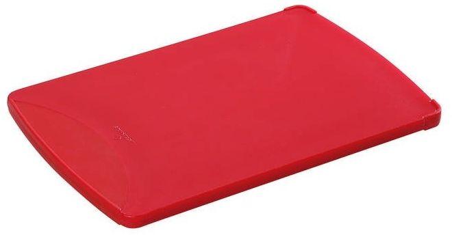 Zassenhaus - deska śniadaniowa, 25,00 cm, czerwona