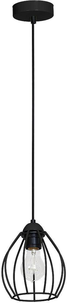 Lampa zwis DON BLACK loft druciana MLP748 Milagro  SPRAWDŹ RABATY  5-10-15-20 % w koszyku