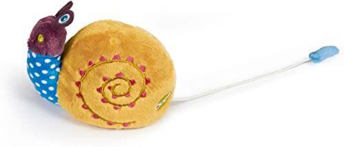 OOPS 13001.13 Miękka kolekcja w podróży przyjaciel ślimak przeprowadzka i wibrująca zabawka, wielokolorowa