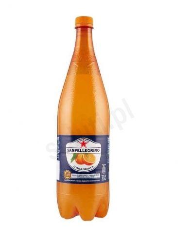 San Pellegrino Aranciata - Gazowany napój ze słodkich pomarańczy (1,25 L)