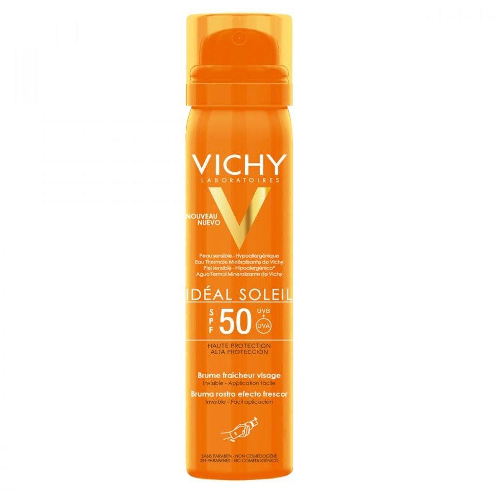Vichy Ideal Soleil SPF 50 aerozol do twarzy