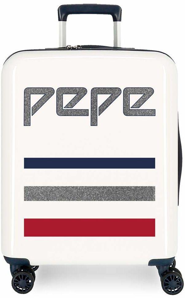 Pepe Jeans Taking Off walizka, biały (beżowy) - 6532161