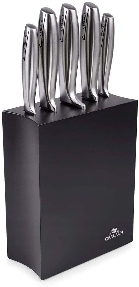 Gerlach Zestaw Noży W Białym Bloku Modern