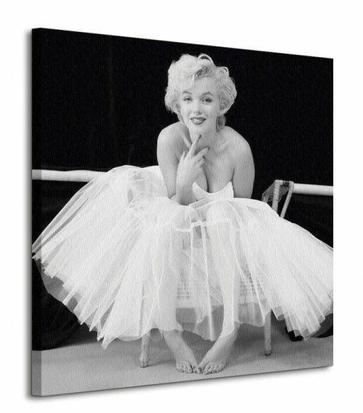Marilyn Monroe (Ballerina) - Obraz na płótnie