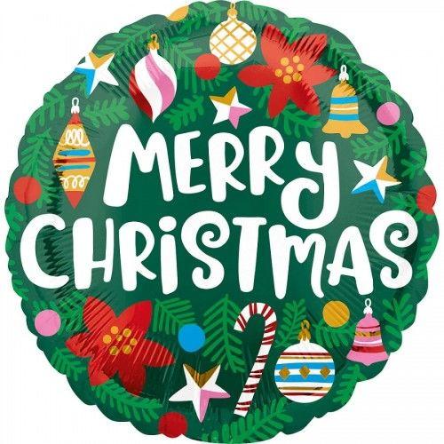 Balon świąteczny Merry Christmas