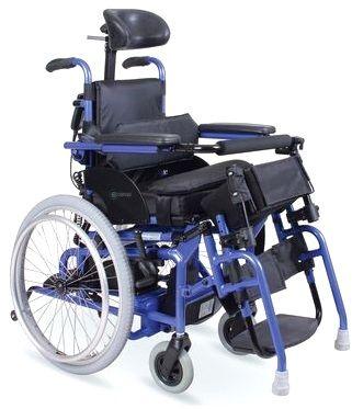 Wózek inwalidzki z pionizacją DLA DZIECI - Vitea Care Baby Hero (DRVL0G)
