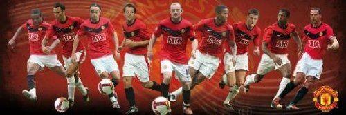 1art1 48840 piłka nożna - Manchester United, gracz 09/10 plakat midi 91 x 30 cm