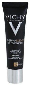 Vichy Dermablend 3D Correction podkład korygująco-wygładzający SPF 25 odcień 45 Gold 30 ml