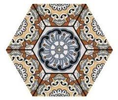 Sevres Marron 28,5x33 płytka heksagonalna