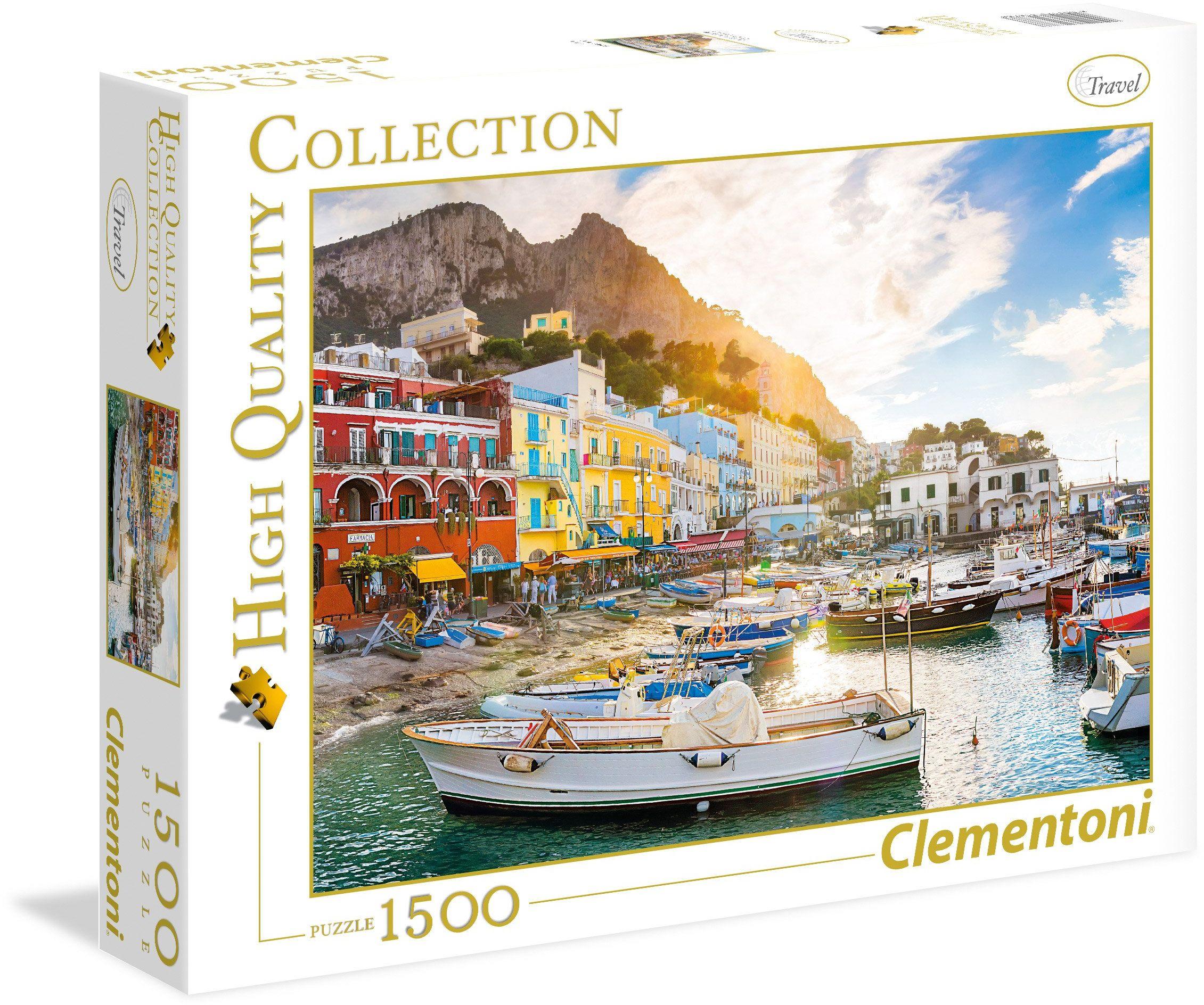 "Clementoni 31678.6 - Puzzle""High Quality Kollektion - Capri"", 1500 części"