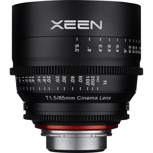 Samyang Rokinon Xeen 85mm T1.5 - obiektyw do Sony E Samyang obiektyw kinematograficzny