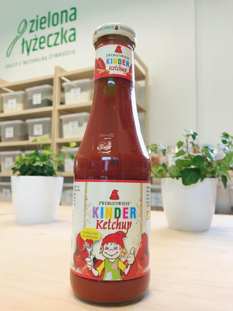 Ketchup dla dzieci bezglutenowy BIO
