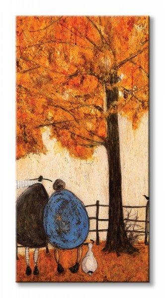 Obraz na płótnie - Jesień Autumn - 50x100 cm