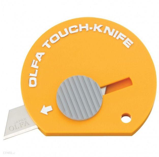 Kieszonkowy nożyk OLFA TK-4 - żółty (TK-4)