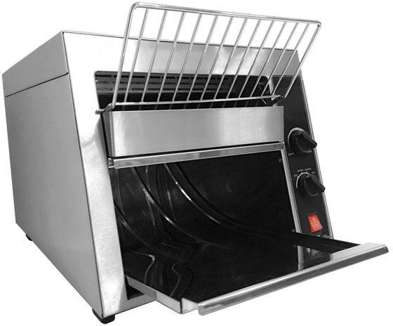 Toster przelotowy 300 tostów/h 1700W