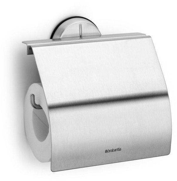 Brabantia - uchwyt na papier toaletowy - stal matowa - stal matowa