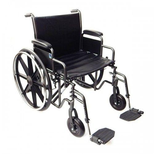 Wózek inwalidzki stalowy wzmocniony K7