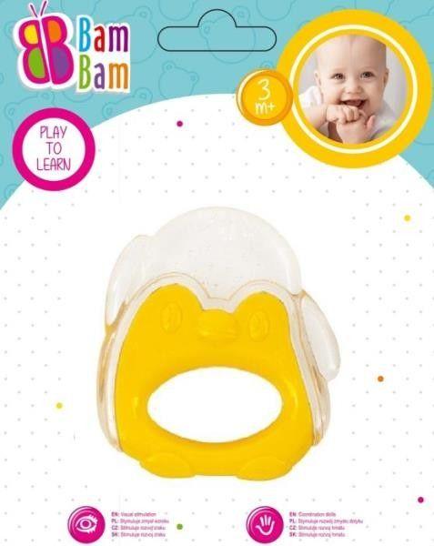 Gryzak Pingwin transparent BAM BAM 430921