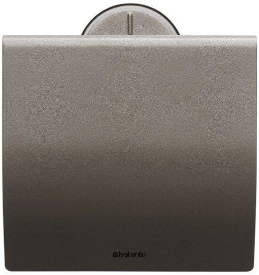 Brabantia - uchwyt na papier toaletowy - platynowy - platynowy