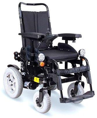 Elektryczny wózek inwalidzki z pełnym wyposażeniem LIMBER (W1018)