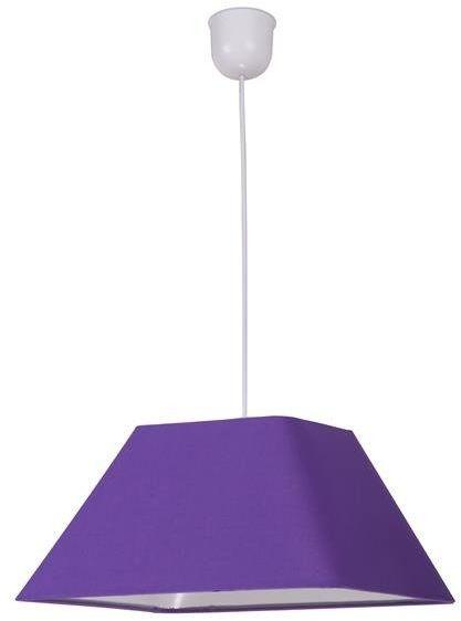 ROBIN LAMPA WISZĄCA 35 1X60W E27 FIOLETOWY PROMO (ABAŻUR 77-01818+LINKA 85-89369)
