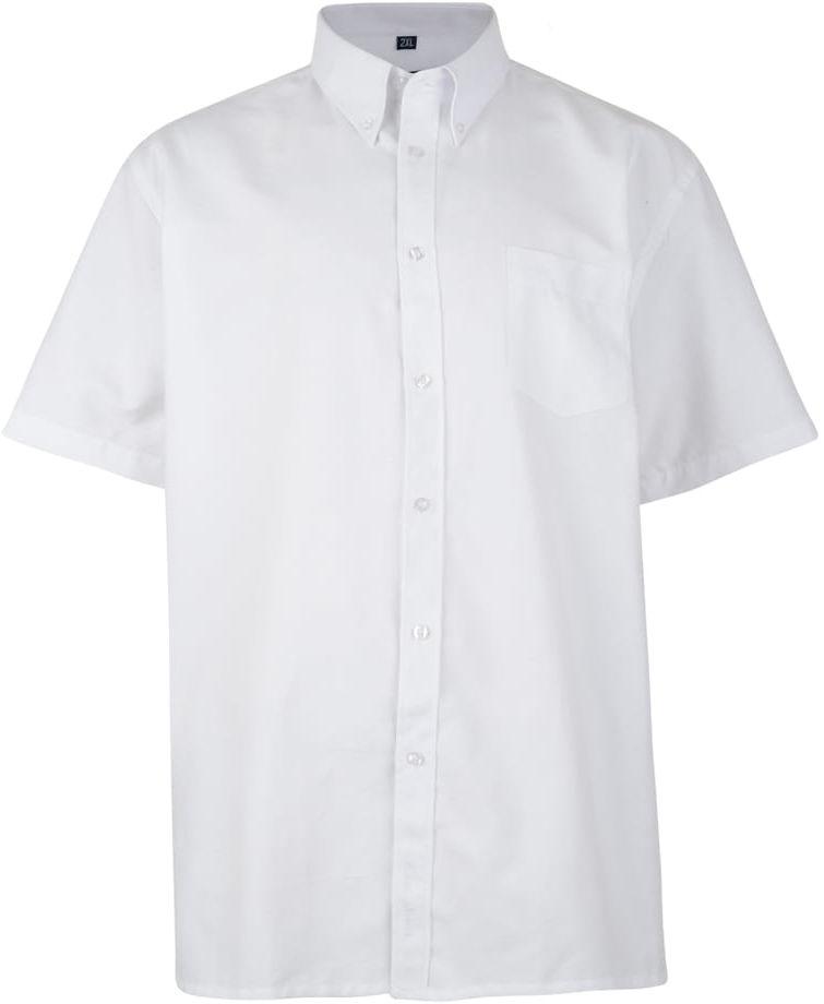 KAM 663A Koszula Męska Biała Duże Rozmiary
