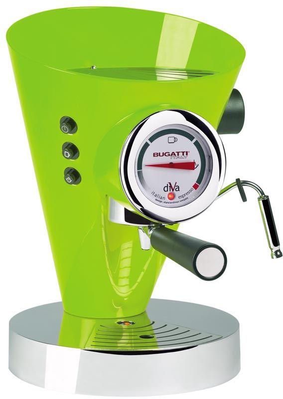 Ekspres do kawy (zielony) DIVA Bugatti