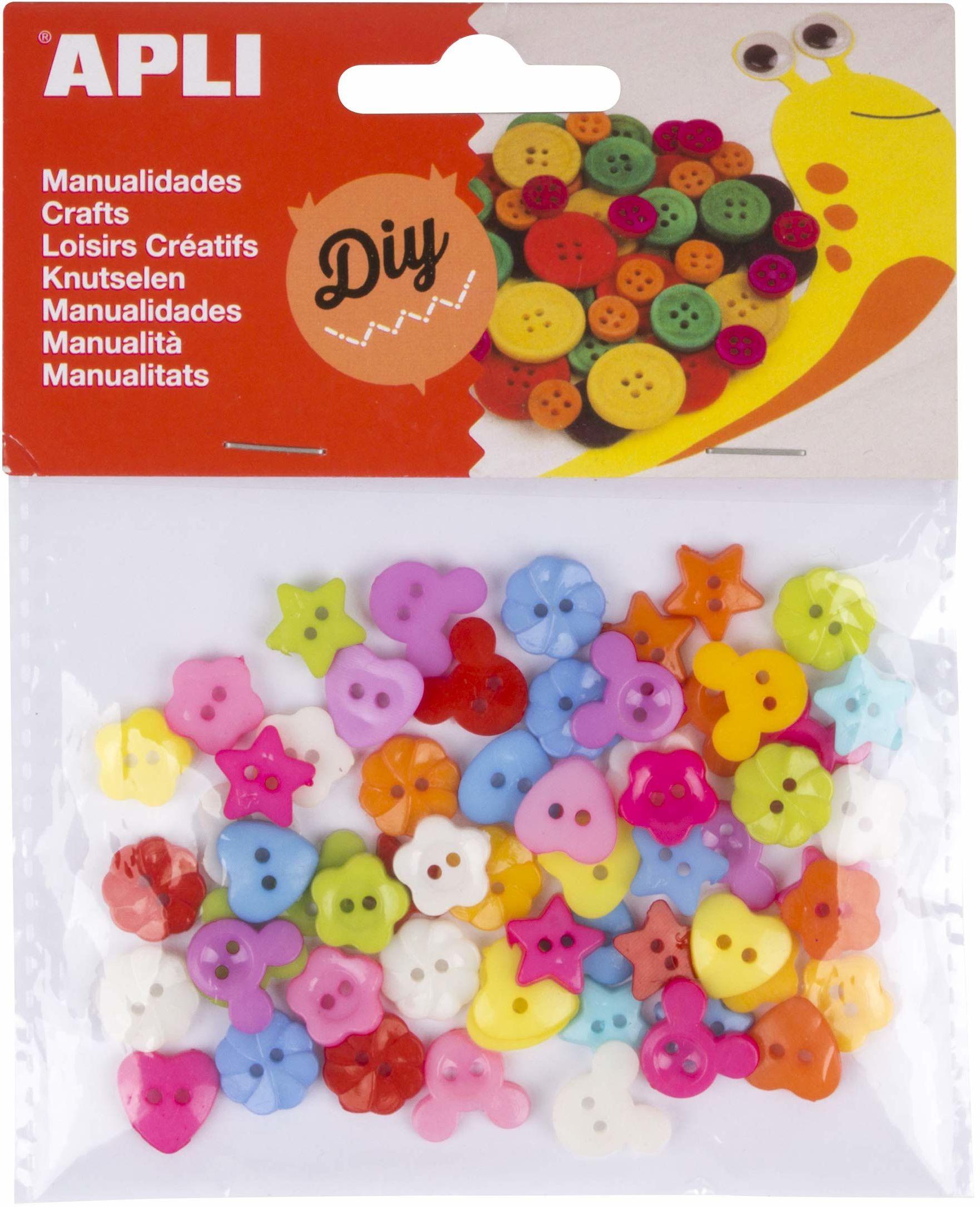 APLI Kids Materiał do majsterkowania, różne kolory (16835)