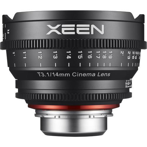 Samyang Rokinon Xeen 14mm T3.1 - obiektyw do Canon EF Samyang obiektyw kinematograficzny