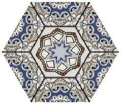 Sevres Azul 28,5x33 płytka heksagonalna