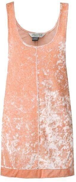 sukienka NIKITA - Fauna Dress Peach Nectar (PEA)