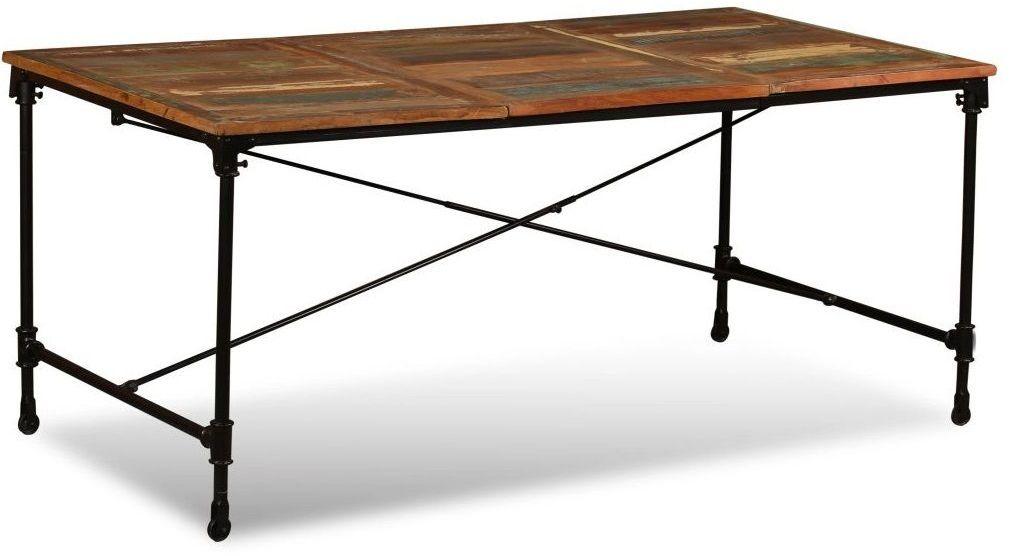 Stół industrialny na kółkach Sinnar 2X  wielokolorowy