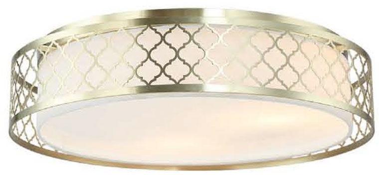 Plafon Cavalli Old Gold Orlicki Design złota oprawa w stylu nowoczesnym
