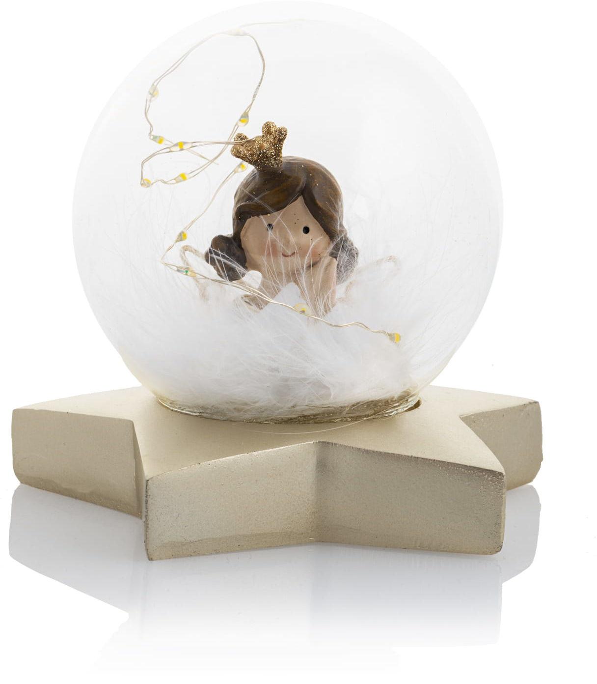Figurka kula z aniołkiem, LED