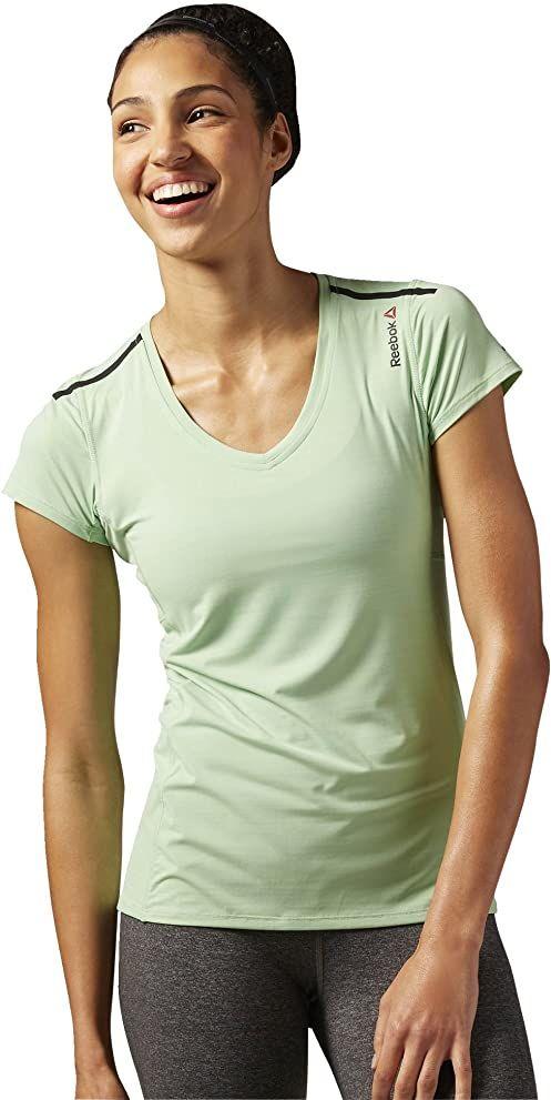 Reebok ONE Series ACTIV Chill T-Shirt, Seafoam Green, 2XS