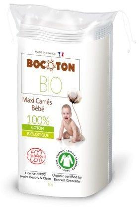 Bio płatki kosmetyczne, owalne 40 szt - BOCOTON