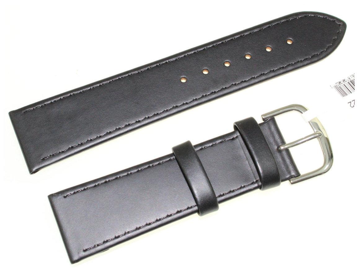Skórzany pasek do zegarka 22 mm JVD R19901-22