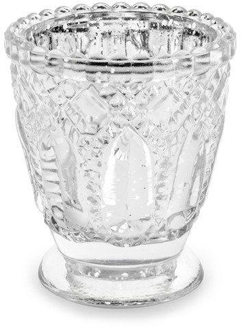 Świecznik srebrny 8cm 1 sztuka SS1-018M