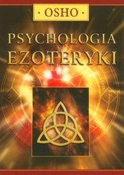 Psychologia ezoteryki ZAKŁADKA DO KSIĄŻEK GRATIS DO KAŻDEGO ZAMÓWIENIA