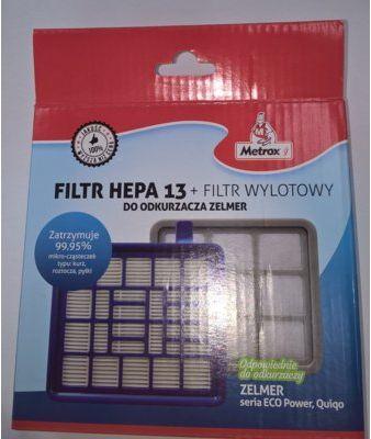 Filtr METROX HEPA13 + Filtr Wylotowy do odkurzaczy Zelmer. Kup Taniej o 40 ZŁ w Klubie. Sprawdź!