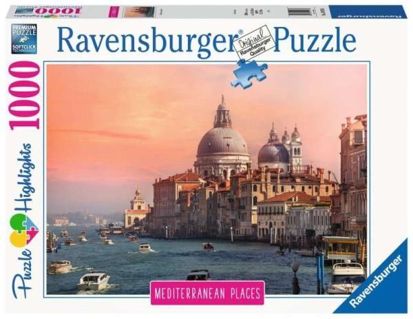 Puzzle 1000 elementów Śródziemnomorskie Włochy (GXP-764198)
