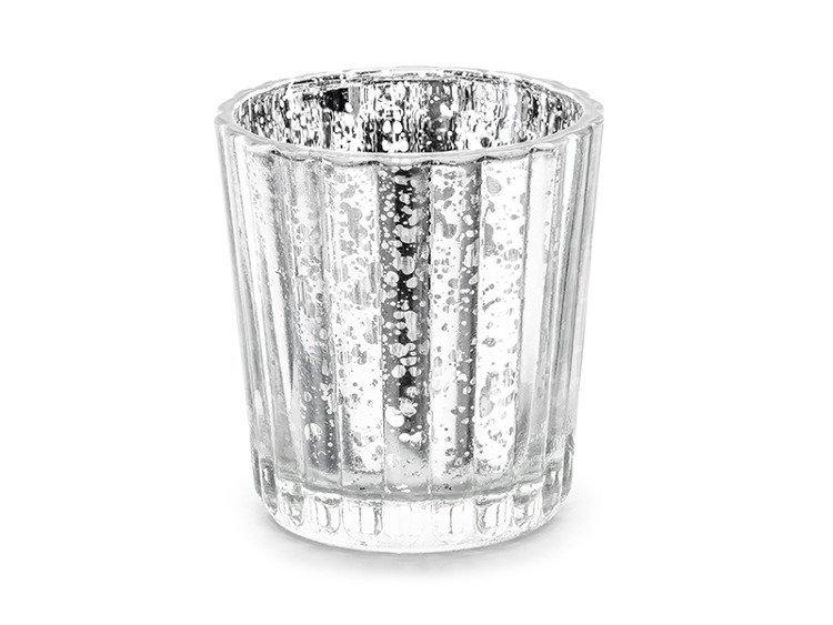 Świecznik srebrny 6cm 1 sztuka SS2-018M
