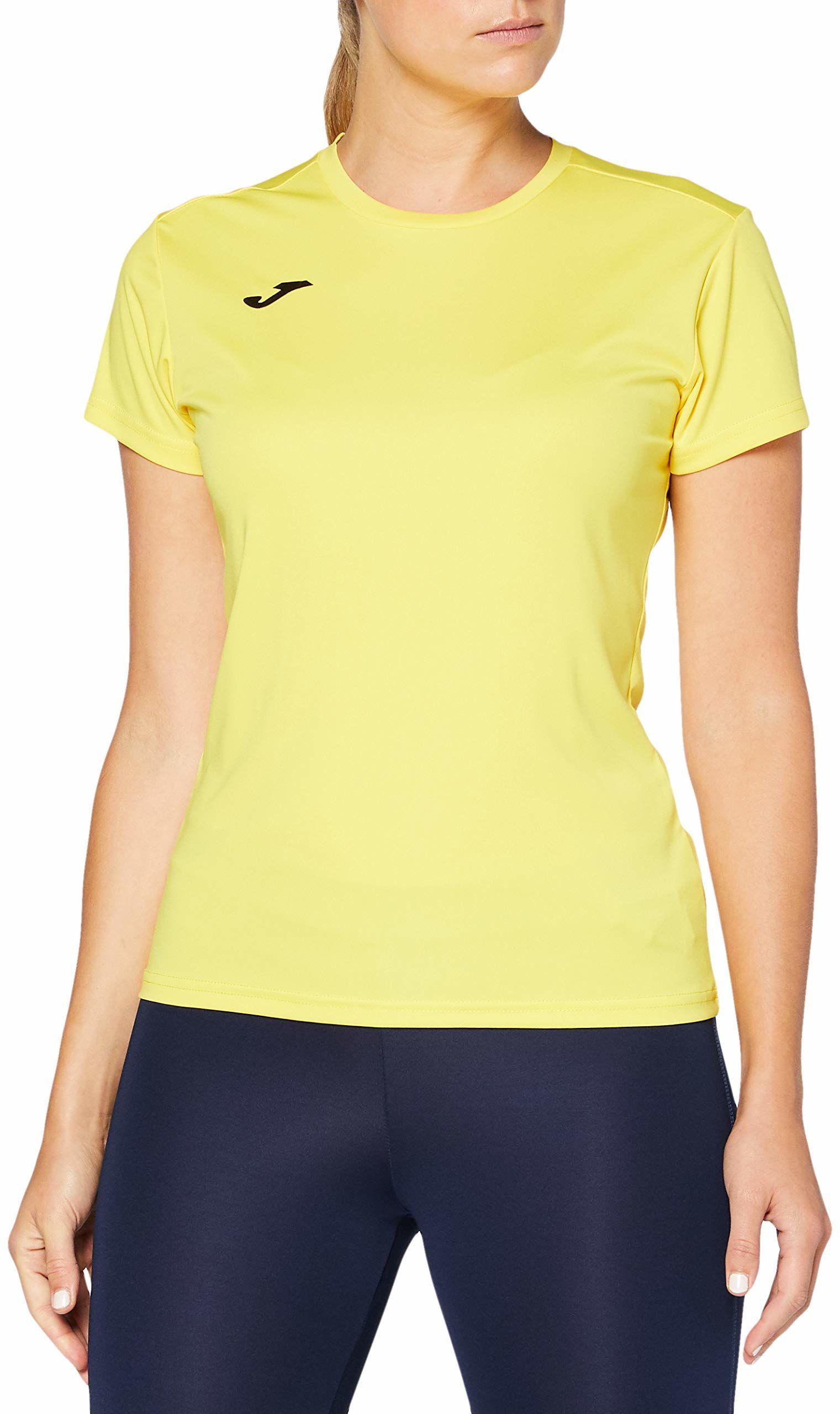 Joma damskie 900248.900 Joma 900248.900 damskie t-shirty - żółty/żółty, duży Yellow/Yellow S