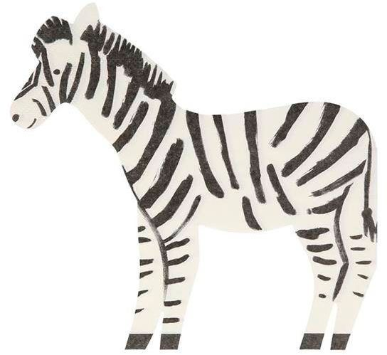 Serwetki zebra safari