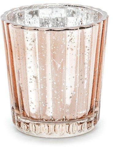Świecznik różowe złoto 6cm 1 sztuka SS2-019R