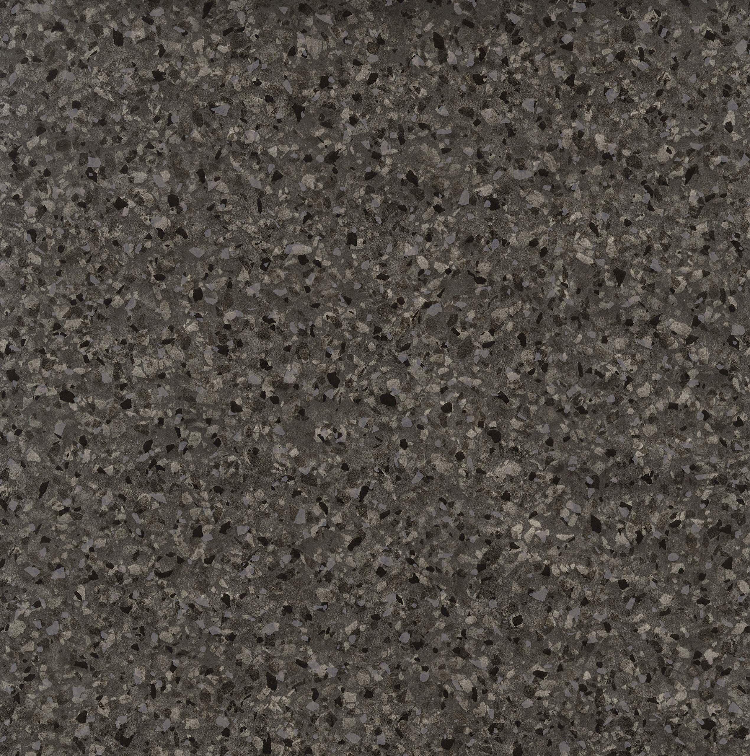 Venilia Folia samoprzylepna, optyka, folia dekoracyjna, folia do mebli, tapety, folia samoprzylepna, PCW, bez ftalanów, 67,5 cm x 1,5 m, grubość 0,095 mm, 54864, granit antracyt, 67,5 cm x 1,5 m