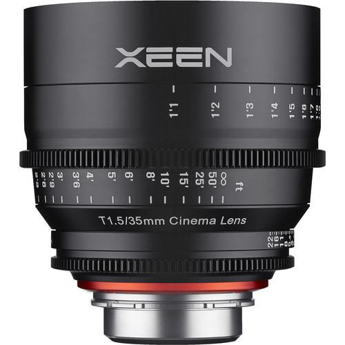 Samyang Rokinon Xeen 35mm T1.5 - obiektyw do Canon EF Samyang obiektyw kinematograficzny