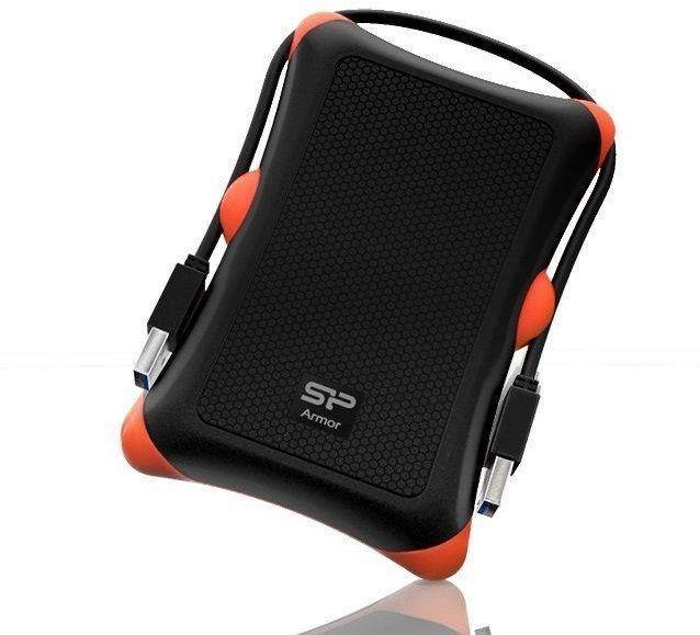 Dysk zewnętrzny Silicon Power ARMOR A30 1TB USB 3.0 BLACK / PANCERNY / wstrząsoodporny